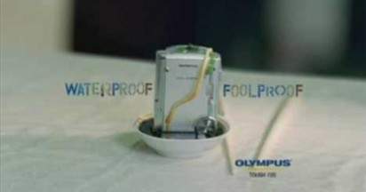 Olympus Shockproof Waterproof Digital Camera in Laksa Soup