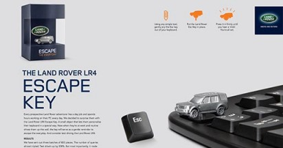 Land Rover Escape Key