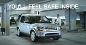 Land Rover Drivers Feel Safe Inside