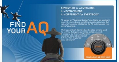Land Rover Adventure Quotient