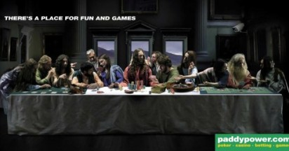 Paddypower Gambles With Last Supper