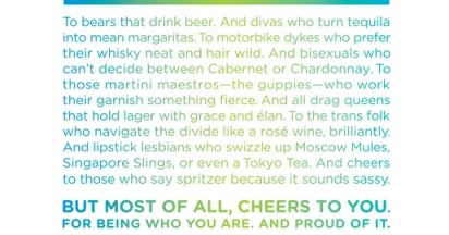 LCBO Cheers with Pride