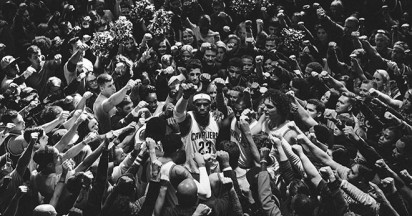 LeBron James Together with Nike