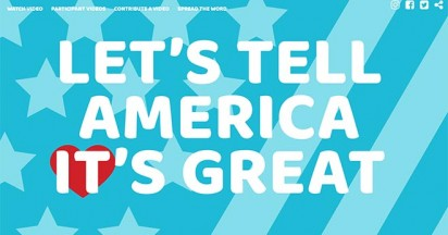 Tell America It's Great – Canada encourages USA