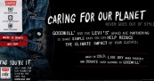 Levis Goodwill Care Tag for Our Planet