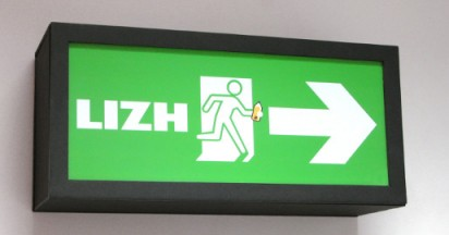 Exit Signs for Recruitment at D&AD Awards
