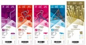 London Olympics Ticket Design