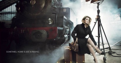 Catherine Deneuve on Louis Vuitton Journey
