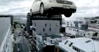 Land Transport NZ in High Rise Ad