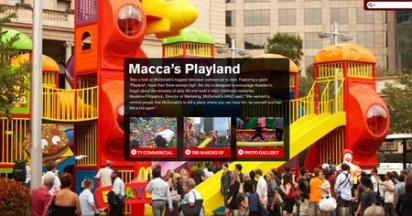 McDonalds Playland for Play in the Everyday