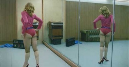 Madonna visits dance gym in Hung Up
