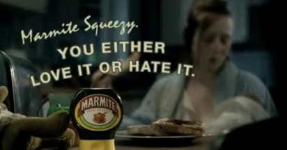 Squeezy Marmite – Love it or Hate it