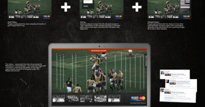 Mastercard Rugby World Cup Facebook Tags