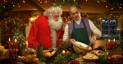 Father Christmas and Matthew Walker Pudding