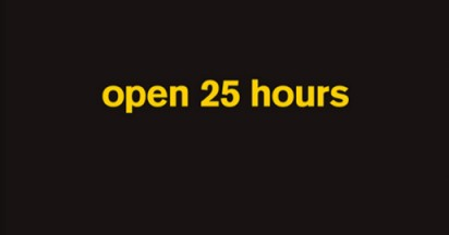 McDonalds Open 25 Hours