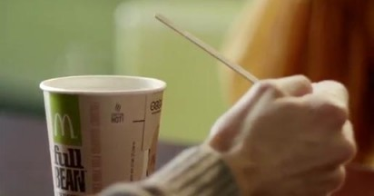 McDonalds Coffee Conversation Cups