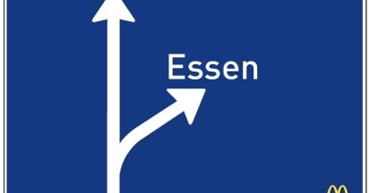 McDonalds Essen Sign