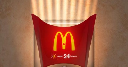 McDonalds Night Light