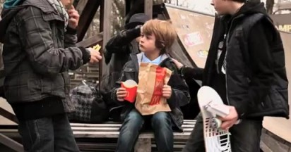 McDonalds Package fools the bullies