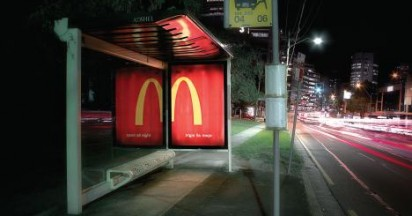 McDonalds Reflection in Australia