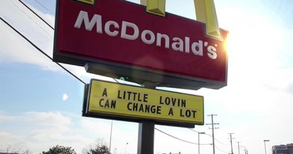 McDonalds Signs Tell A Story – Carry On