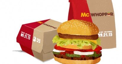 McWhopper for Peace Day