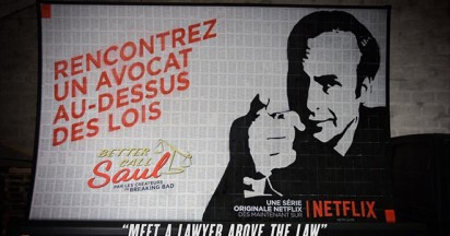 Netflix Better Call Saul in Paris
