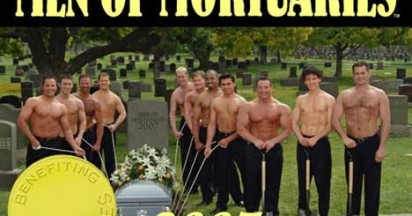 Men of Mortuaries Calendar Raises Funds For Breast Cancer