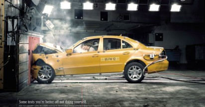 Mercedes Crash Test for Breast Cancer