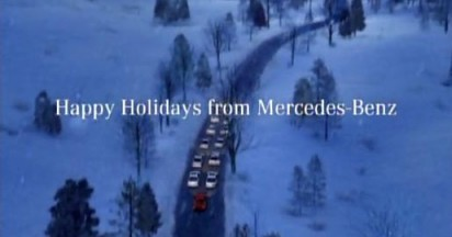 Mercedes Sleigh Ride