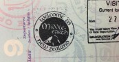 Middle Earth Passport Stamp