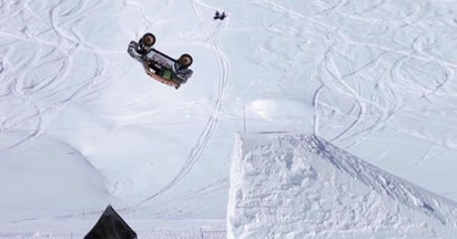 Daredevil Chicherit's Full MINI Backflip
