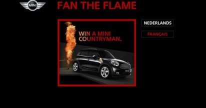 Mini Fan The Flame