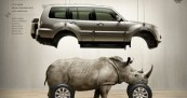 Mitsubishi Pajero with Animal Instinct