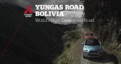Mitsubishi Tests World's Most Dangerous Road