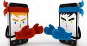 Viral Rivalry for Mobile Devices