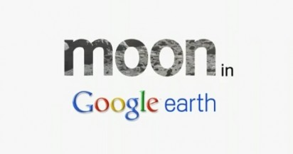 Moon in Google Earth
