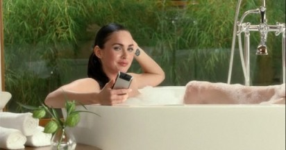 Megan Fox Unleashes Motoblur on Motorola Devour