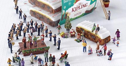 Miniature Kipling Christmas