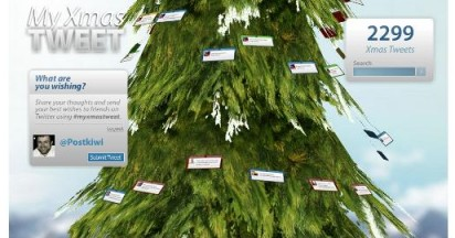 My Xmas Tweet Tree