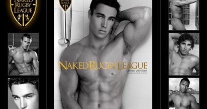 Naked Rugby League Calendar for Breast Cancer