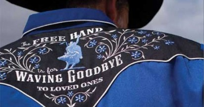 Free Hand For Waving Goodbye To Friends at National Finals Rodeo in Las Vegas