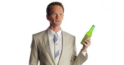 Neil Patrick Harris not drinking Heineken Light