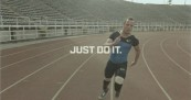 Oscar Pistorius Runs for Nike