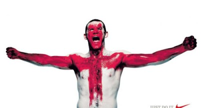 Nike Puts Rooney On St George Cross