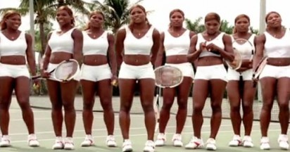 Nike Tennis Instructor vs Serena Williams