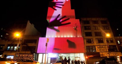 Flash Light Nuit Blanche in NY
