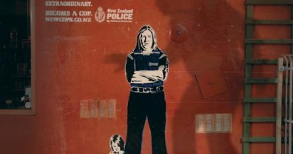 Become a Cop in Street Art