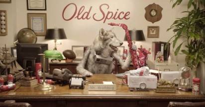 Old Spice Wolfdog in Charge of Marketing
