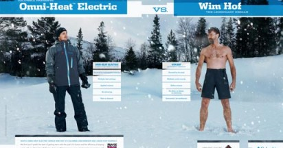 Columbia vs Ice Man Wim Hof